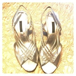Formal open toed shoes